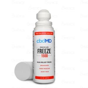 cbdMD Freeze roll-on, 1500mg