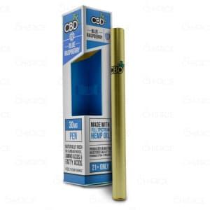 CBDfx Vape Pen, Blue Raspberry, 30mg