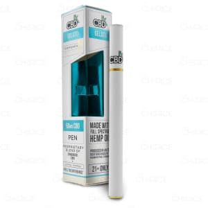 CBDfx Vape Pen, Gelato, 50mg