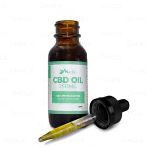 Medix CBD Oil, 250mg