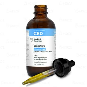 Bluebird Botanicals Hemp Signature Concentrated, 3000mg