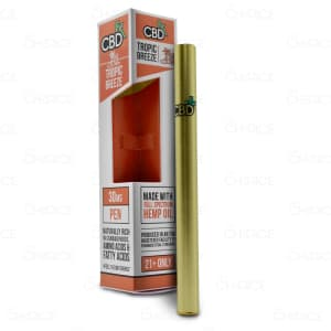 CBDfx Vape Pen, Tropic Breeze, 50mg