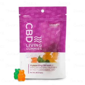 CBD Living Vegan Gummies