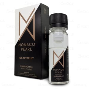 Monaco Pearl Grapefruit CBD Cocktail, unboxed