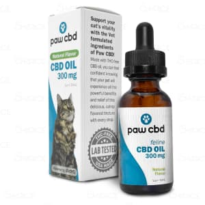 Paw CBD Natural Cat Oil, 300mg