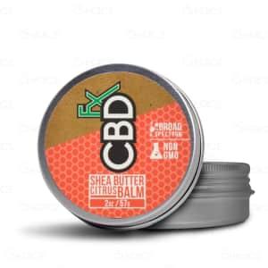 CBDfx Shea Butter Citrus Balm