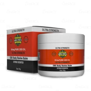 Uncle Bud's CBD Revive Balm, 60mg