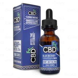 CBDfx Blueberry Pineapple Lemon Oil, 1500mg