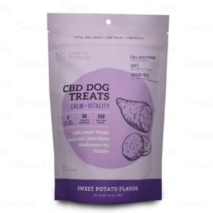 Lazarus Naturals Calm + Vitality CBD Dog Treats