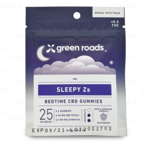 Green Roads Sleepy Z's Gummies 50mg