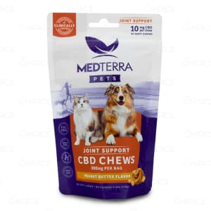 Medterra Joint Support Pet Chews, 30 count