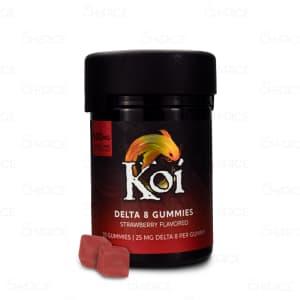 Koi Delta 8 Strawberry Gummies
