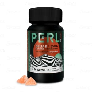 PERL Pomegranate Delta 8 Gummies