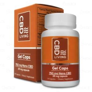 CBD Living Nano CBD Gel Caps