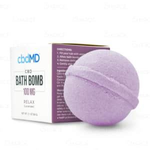 cbdMD Relax Bath Bomb