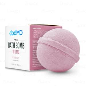 cbdMD Resist Bath Bomb