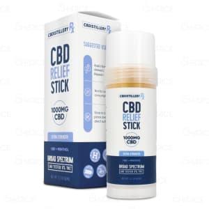 CBDistillery CBD Relief Stick 1000mg