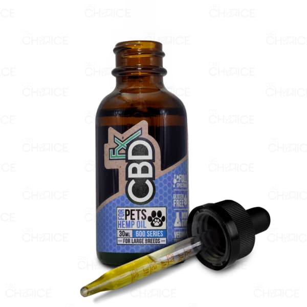 CBDfx Pet Oil, Large Breed