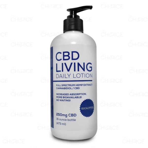 CBD Living Daily Lotion Eucalyptus