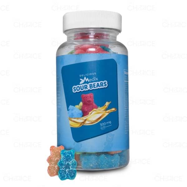 Medix CBD Sour Gummy Bears