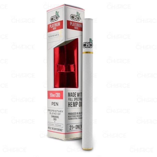 CBDfx Vape Pen, Platinum Rose, 50mg