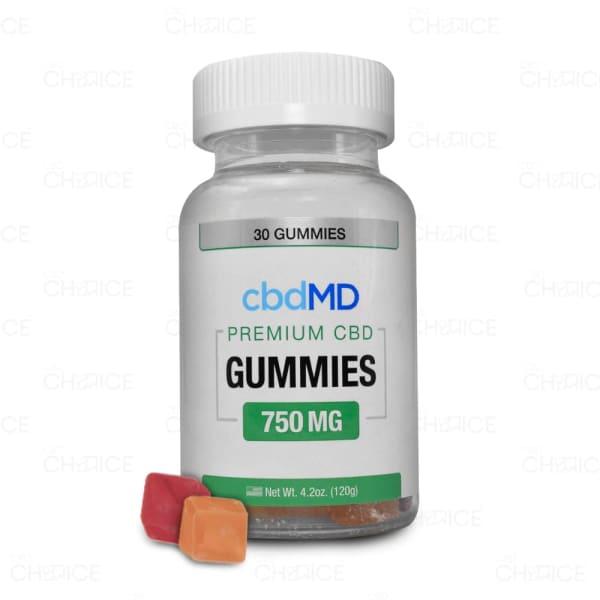 cbdMD Gummies, 750mg