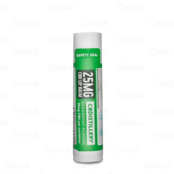 CBDistillery Spearmint Lip Balm, 25mg