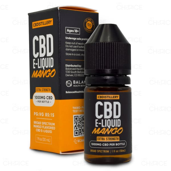 CBDistillery Mango E-liquid 1000mg