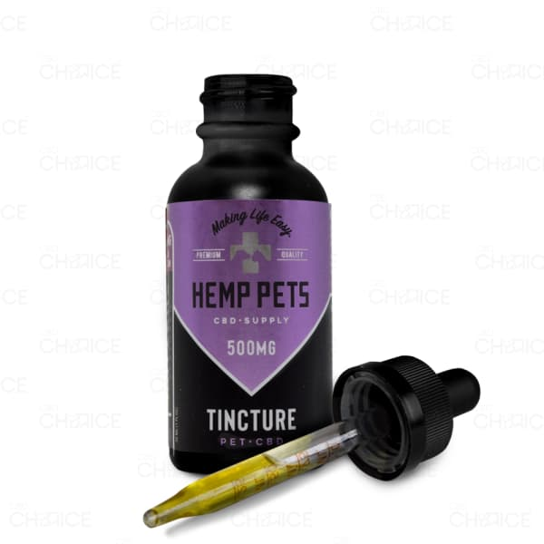 Hemp Pets CBD Oil for Dogs and Cats, 500mg