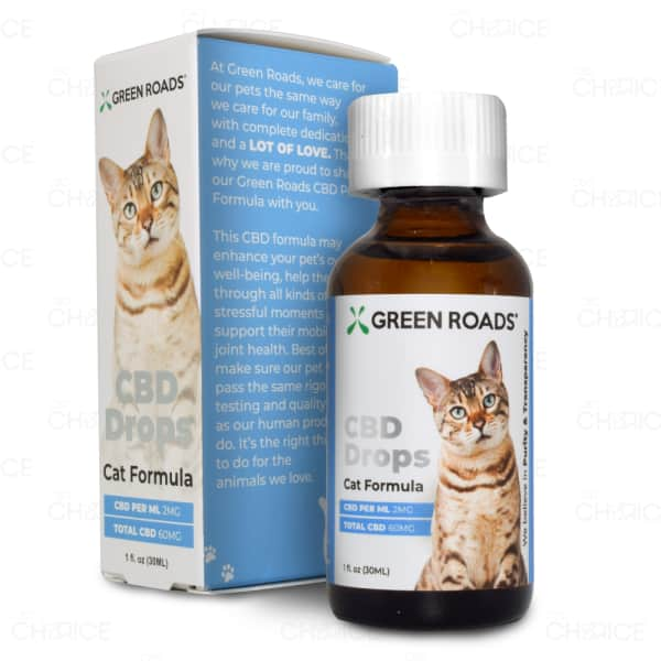 Green Roads CBD Drops Cat Formula