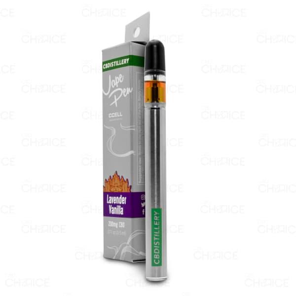CBDistillery Lavender Vanilla Vape Pen, 200mg