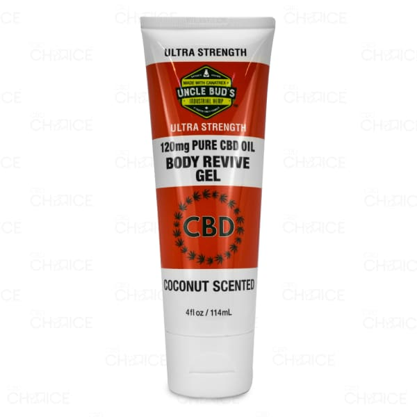 Uncle Bud's CBD Body Revive Gel, 120mg