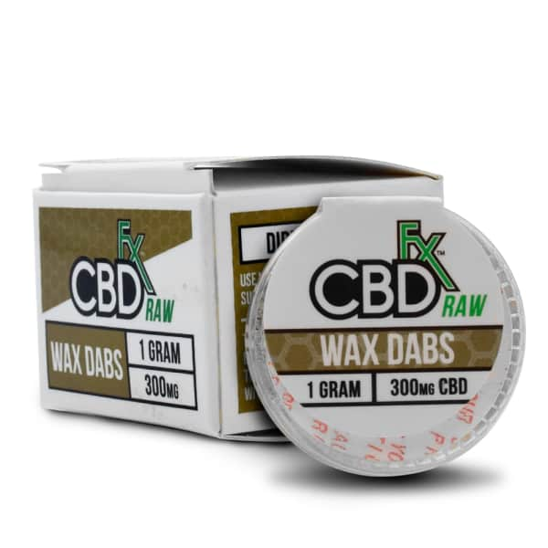 CBDfx Wax Dabs 300mg