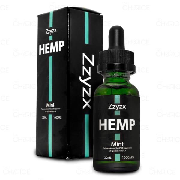 Zzyzx Mint CBD Oil 1000mg tincture