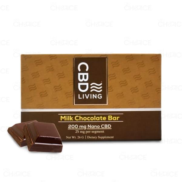 CBD Living Milk Chocolate Bar