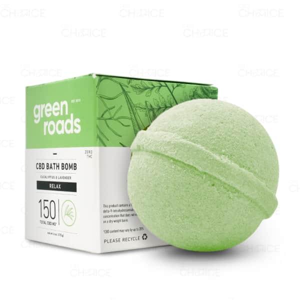 Green Roads Relax Bath Bomb