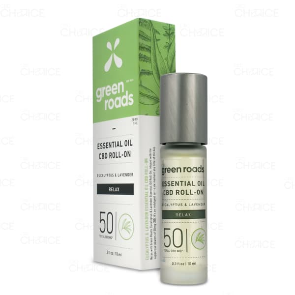 Green Roads Relax Essential Oil Roll On