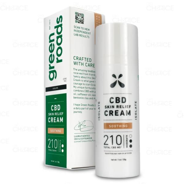Green Roads Skin Relief Cream 210mg