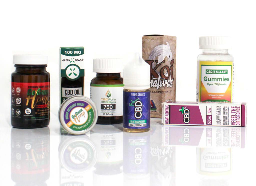 CBD Affiliate Products