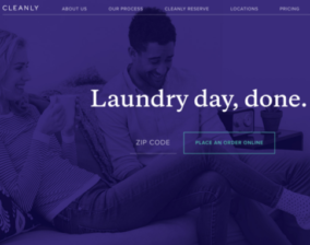 Cleanly - On Demand Laundry & Dry Cleaning Delivery Service