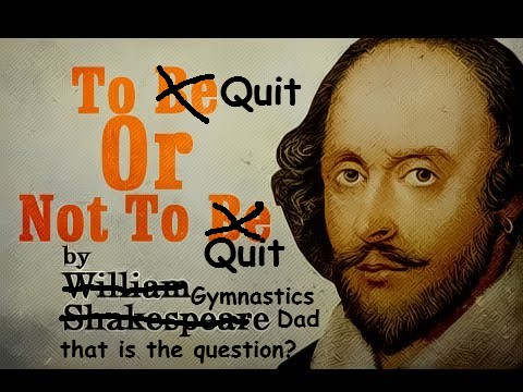 My Gymnast Wants To Quit The Sport