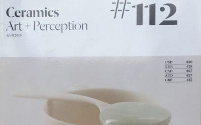 Ceramics Art and Perception #112