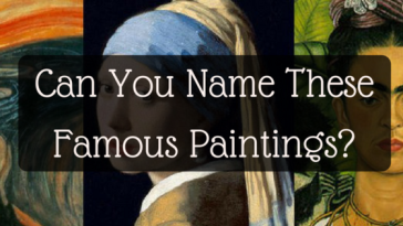 Art Quiz : Can you identify these famous works of art? gaga boss: personality