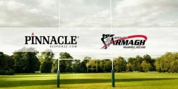 Pinnacle Response announces sponsorship of City of Armagh Rugby Club.