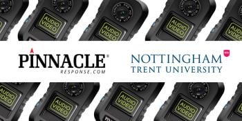 PR6 Body Cameras Chosen To Support Nottingham Trent University