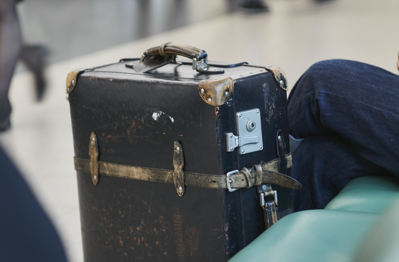 思い出の詰まったスーツケース。