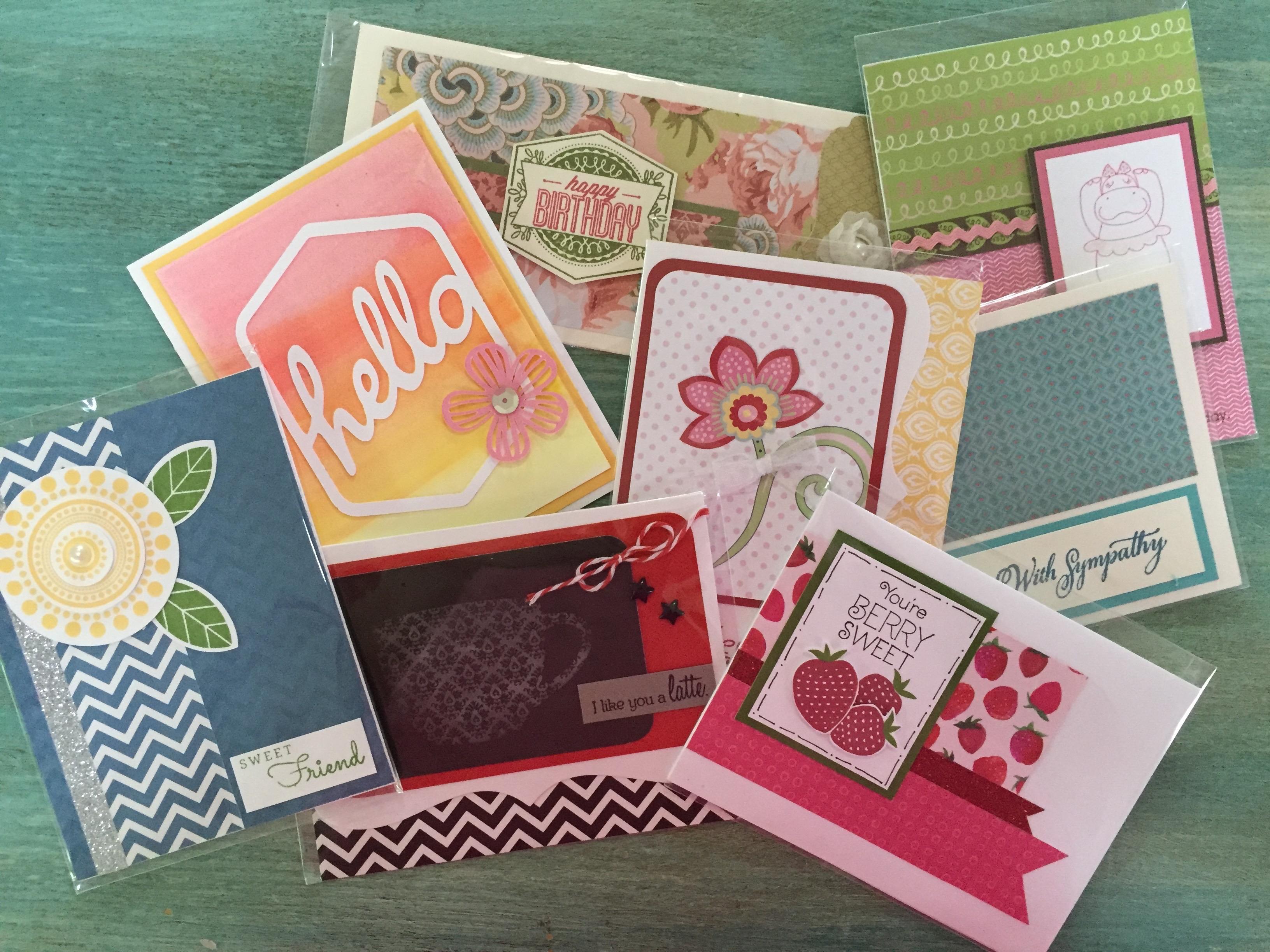 Have fun at my Card Buffet this week!