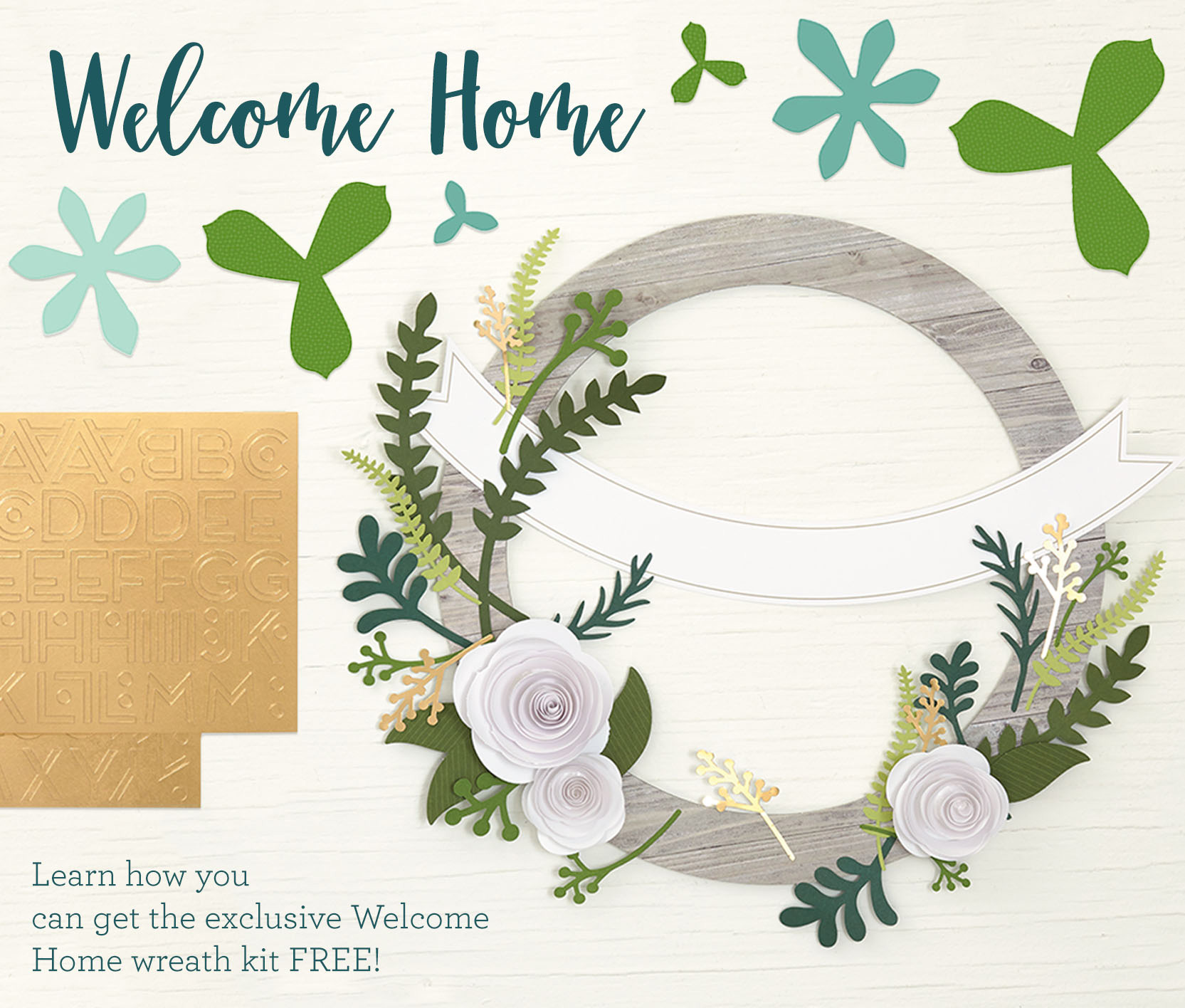 Welcome Home Wreath Kit