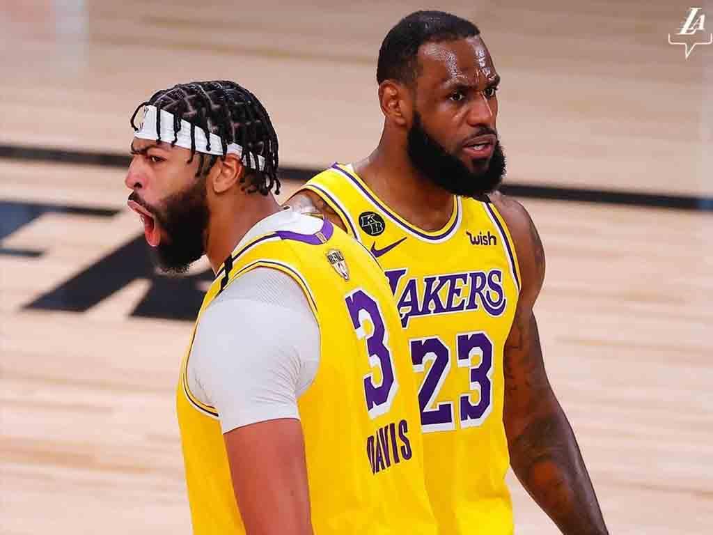 LeBron James e Lakers seguem líderes de vendas
