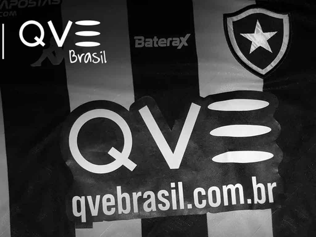 Botafogo anuncia QVE Brasil como patrocinador máster